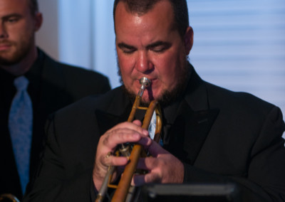 Chris Scott on Trumpet