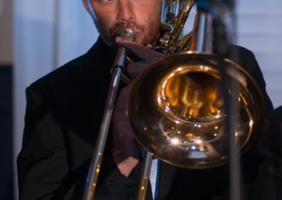Tyler Mills on Trombone