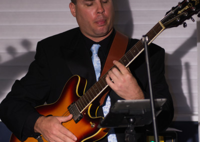 Chris Thompson on Guitar