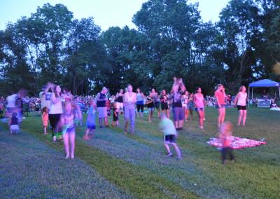 Festival Crowd Dancing